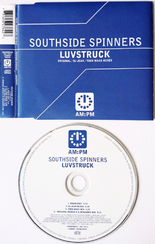 Southside Spinners ‎- Luvstruck (CD Single) (VG/VG)